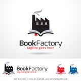 Book Factory Logo Template Design Vector