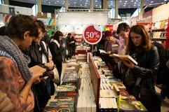 Book fair discounts Stock Image