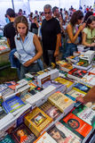 Book Fair at the Festa do Avante Festival. Royalty Free Stock Photos