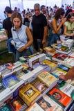Book Fair at the Festa do Avante Festival. Royalty Free Stock Photos