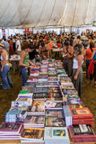 Book Fair at the Festa do Avante Festival. Royalty Free Stock Image