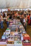 Book Fair at the Festa do Avante Festival. Royalty Free Stock Image