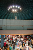 Book fair of Gaudeamus Stock Photo