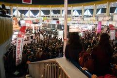 Book fair of Gaudeamus Stock Images
