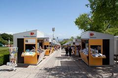 Book Fair Lisbon Stock Photography