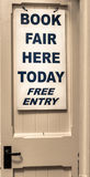 Book Fair Sign Royalty Free Stock Photo