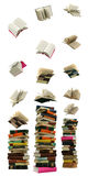 Book fall Royalty Free Stock Images