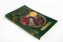 The book, Fantastic Beasts and where to find them by J.K.Rowling