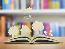 Book of fantasy stories Stock Images