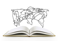 Book of fantasy stories Stock Photos