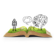 Book of fantasy stories Royalty Free Stock Photo
