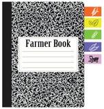 Book farmer Royalty Free Stock Photo