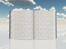 Book filled with Genetic Code Royalty Free Stock Photo