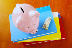 Book finance Stock Image