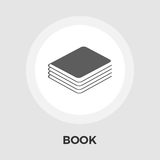 Book Flat Icon. Book Icon Vector. Flat icon  on the white background. Editable EPS file. Vector illustration Royalty Free Stock Photos