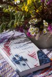 Book, Flowers, Forest, Bouquet Stock Photography