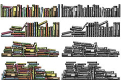 Book foregrounds Stock Image