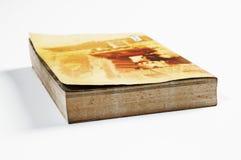 book gammalt Arkivfoto