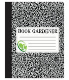 Book gardener Royalty Free Stock Photography