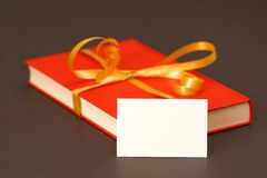 Book gift Stock Photography