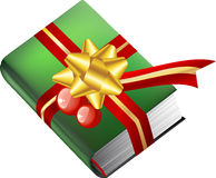 Book gift for christmas Stock Photography