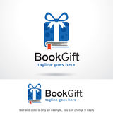 Book Gift Pack Logo Template Design Vector Stock Photo