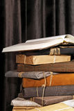 Book gift pile Royalty Free Stock Photo