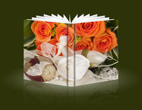 Book of gifts for Valentine Day Royalty Free Stock Photo