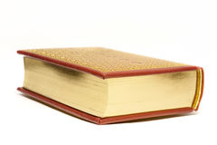 Book with Gilded Pages Royalty Free Stock Images