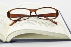 Book and Glasses - Conceptual Stock Photo