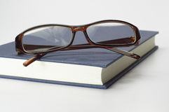 Book and Glasses - Conceptual Stock Image