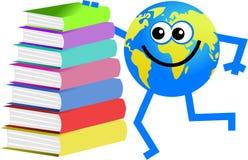Book globe Royalty Free Stock Photos