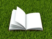 Book on grass Royalty Free Stock Photos