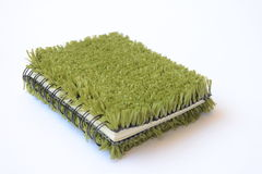 Book with Green Cover Stock Photo