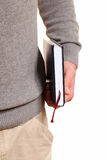 Book in hand. Royalty Free Stock Image