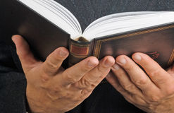 Book in hands Stock Photography