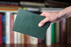 The book in the hands Stock Images