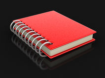 Book with hard cover. Image with clipping path Stock Photography