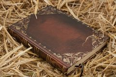 The book on hay .World reli Royalty Free Stock Photography