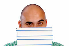 Book head Royalty Free Stock Photo
