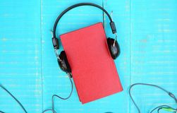 Audiobook concept Royalty Free Stock Photos