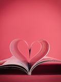 Book of heart Stock Images