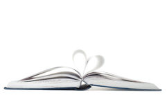 Book with heart sign Royalty Free Stock Images