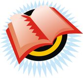 Book icon Stock Photos