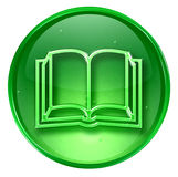 Book icon Stock Photo