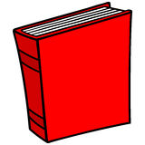 Book Icon. Cartoon illustration of a Book Icon Royalty Free Stock Photo