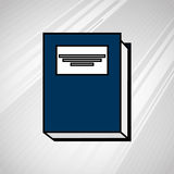 Book icon design. Illustration eps10 graphic Royalty Free Stock Photography