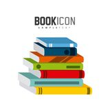 book icon  design Royalty Free Stock Images
