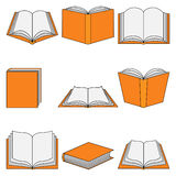 Book icon-Education Stock Photo