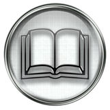 Book icon grey Stock Photography